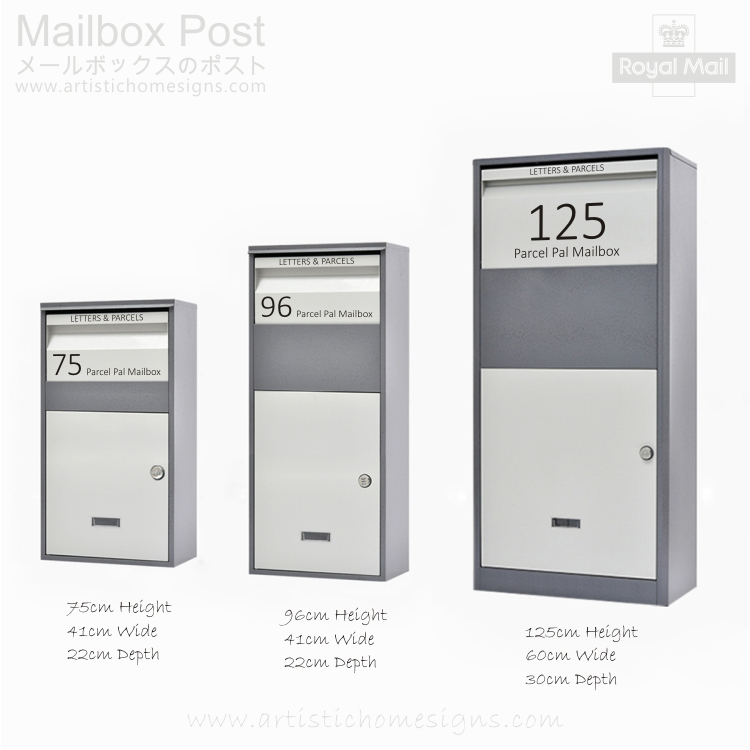 Parcel Pal Family Express Box Drop Mailbox Letterbox Malaysia Home Decor MLB-635 04 Address Sticker Made In Malaysia