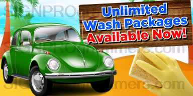 01-CW039 UNLIMITED WASH PACKAGES 192x384R