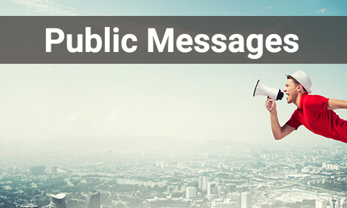 public message-category