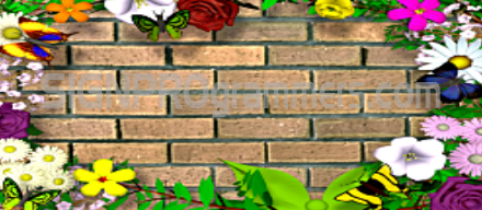 09-034 SPRING WALL BACKGROUND 192×440