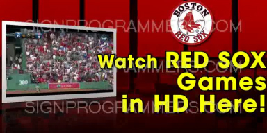 17-021 WATCH RED SOX 192×384