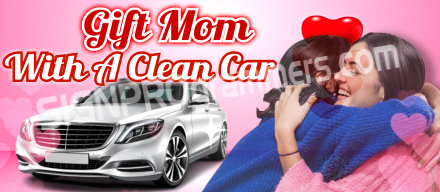 01-CW064 Gift Mom WIth A Clean car_192xx40W