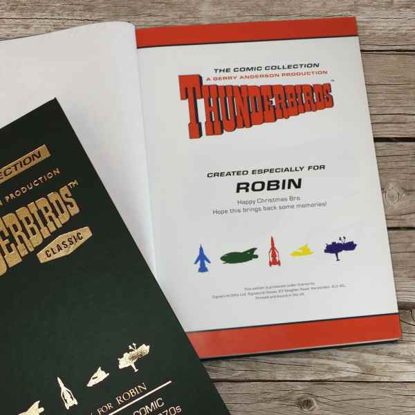 Personalized Thunderbirds Collector's Edition Book ...