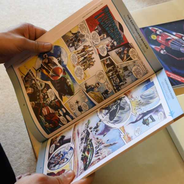 Personalized Thunderbirds Are Go Comic Books | Signature Gifts