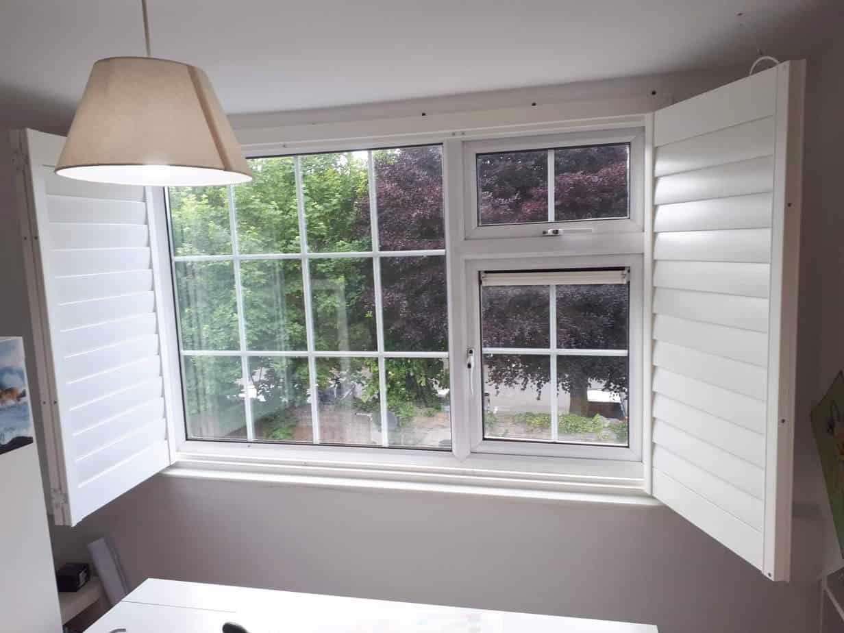 Bay Window Bedroom Shutters We Installed In Fairview Dublin 3