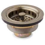 Strainer Basket With Lift Stopper 3 1 2 Kitchen