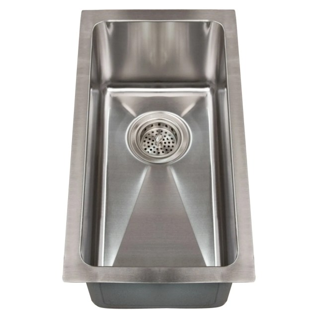 Single Hole Stainless Steel Sink