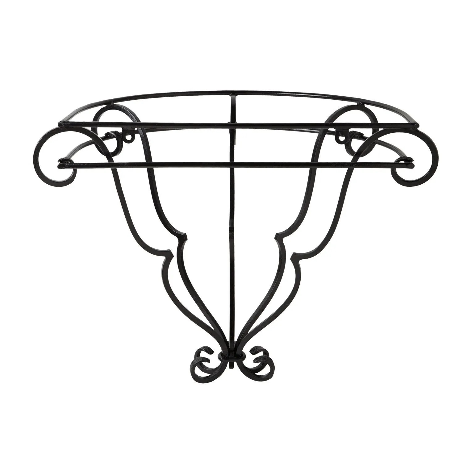 Michel Wall Mount Wrought Iron Vessel Sink Stand With