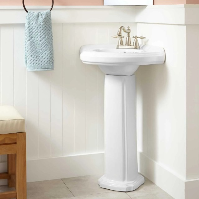 Pedestal Sinks Ainsworth Wallmount Sink Guest Bathroom Like This