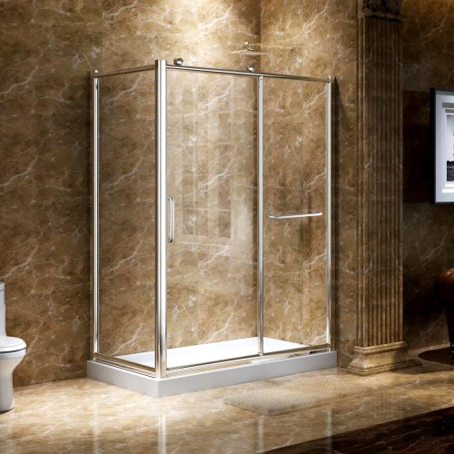 Corner Shower Surround - Photo Trend & Ideas