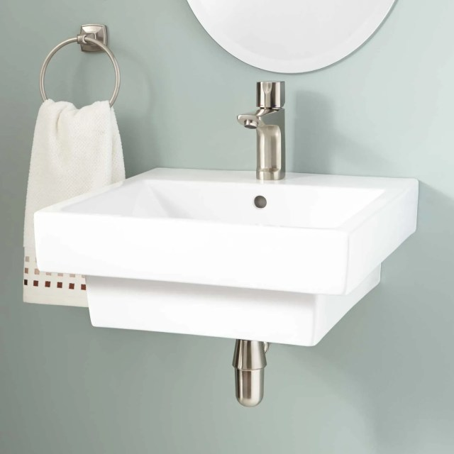 Square Bathroom Sink