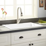 30 Holcomb Drop In Granite Composite Sink Cloud White Kitchen