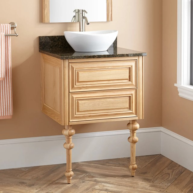 Oak Bathroom Sink Vanity