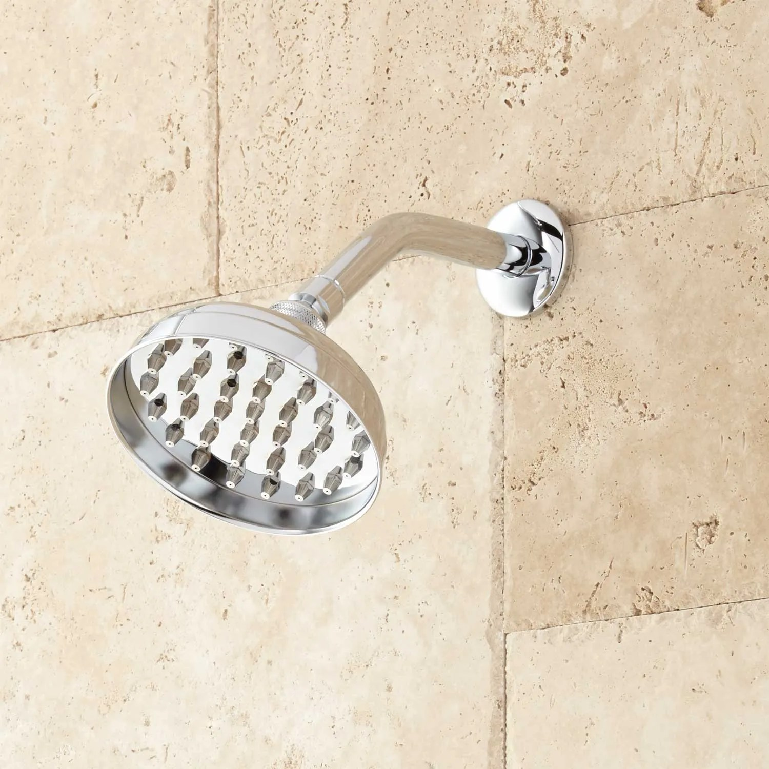 Details About Signature Hardware Hinson Dual Shower Head Shower System With Hand Shower