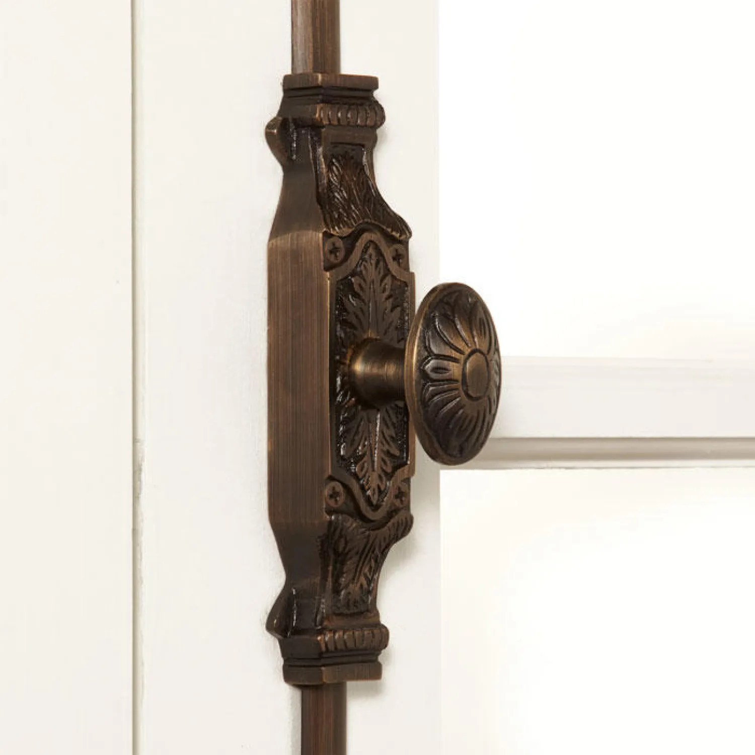 Corinthian Brass Window Cremone Bolt Hardware
