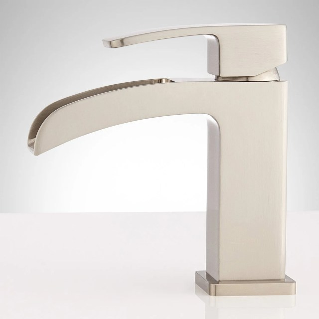 Stevens Waterfall Single Hole Bathroom Faucet Bathroom
