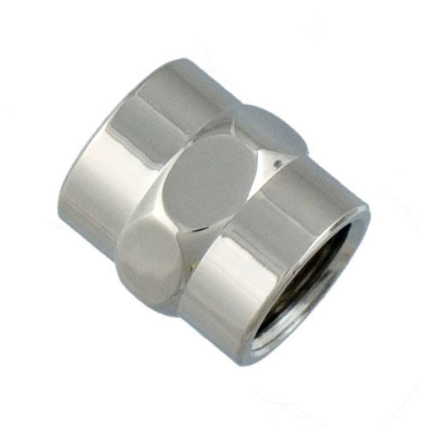 Solid Brass Decorative Pipe Coupling 12 IPS Bathroom