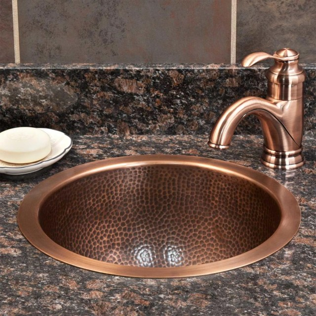Drop in Bathroom Sinks Self rimming Sinks