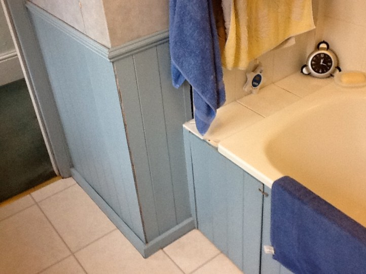 Bathroom Makeover - The Grove BEFORE 1