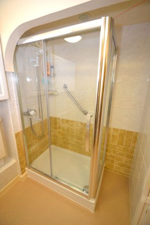 Shower Room Installation - Retirement Flat Gresham Court 1