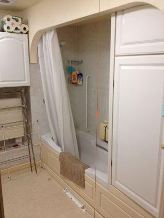 IMG_0974Shower Room Installation - Retirement Flat Gresham Court BEFORE