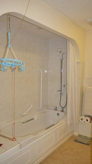Retirement Flat - Shower Installation - Gresham Court BEFORE 1