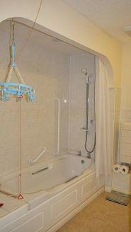 Retirement Flat - Shower Installation - Gresham Court BEFORE 1