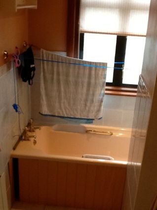 En-suite Installation - The Grove BEFORE 2