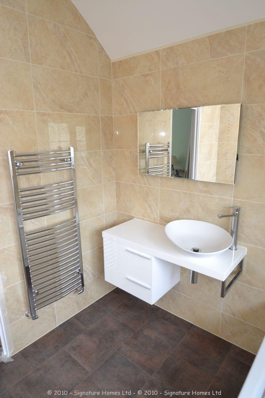 Fully Tiled Bathroom Beautiful Minimalistic Fitted Bathroom Marlpit Lane