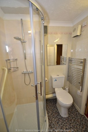 Shower Room Installation - Retirement Flat Emerald Court 2