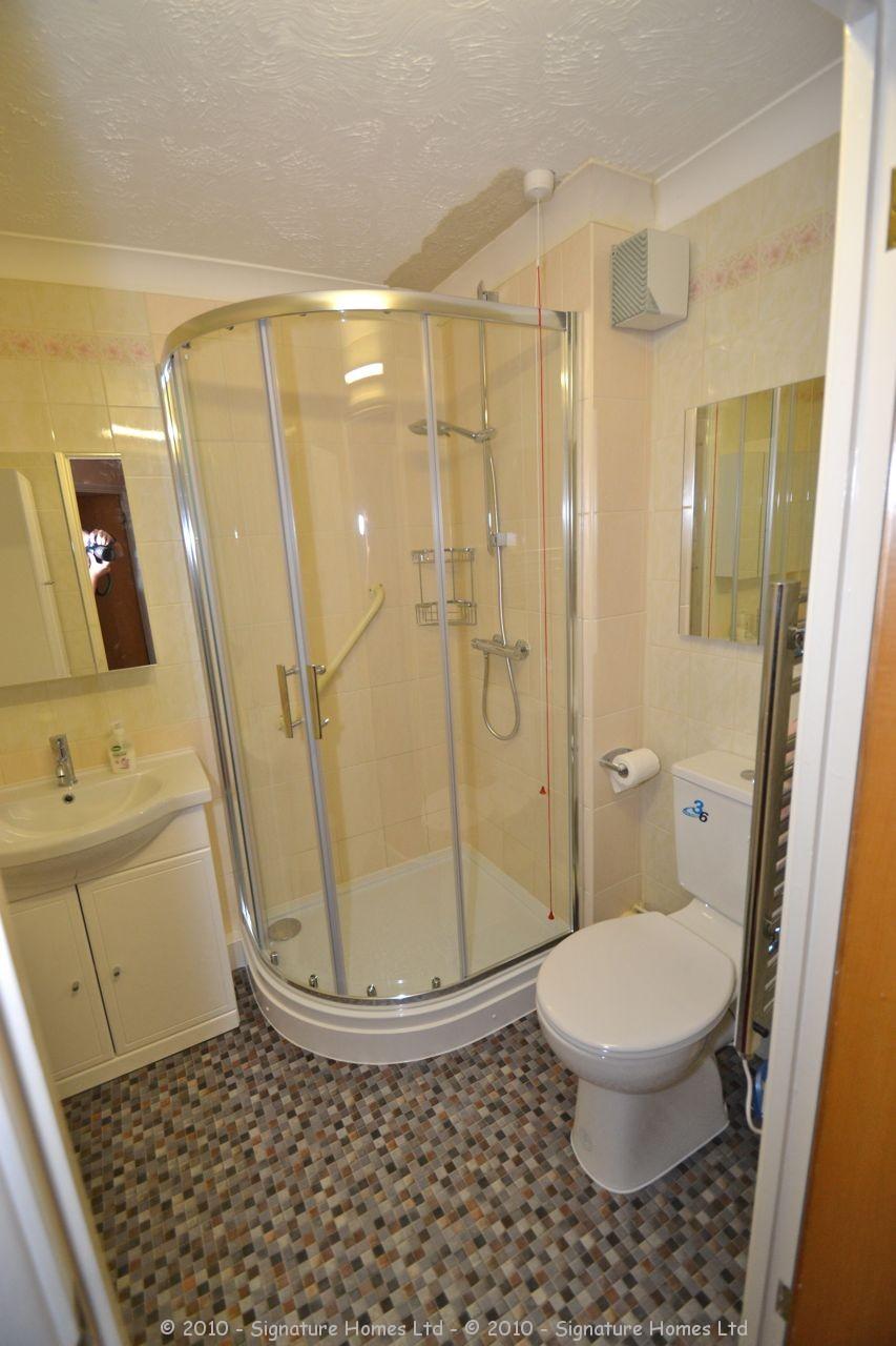 Shower Room Installation Retirement Flat Emerald Court