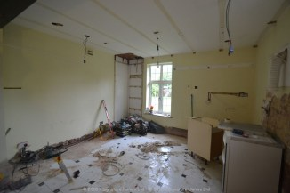 Bespoke Kitchen Makeover - Painted Ash Collection - Tollers Lane DURING 1