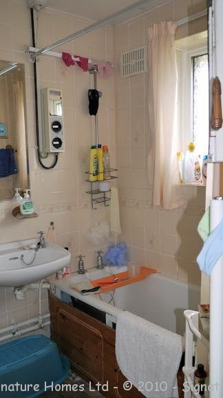 Bathroom Knock Through - Epsom Downs BEFORE 1