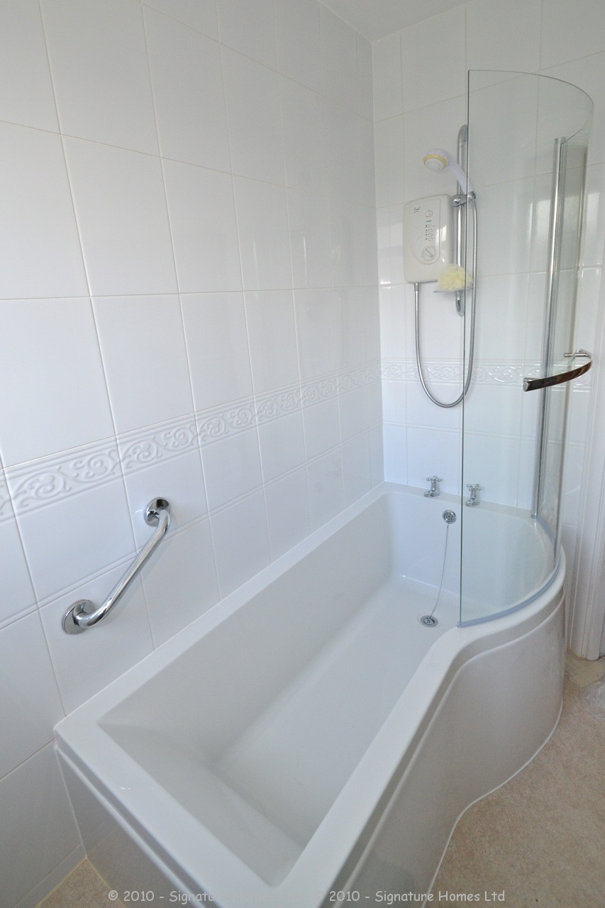 Simple Bathroom Makeover - St Andrews Road - Signature Homes Ltd