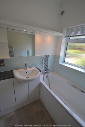 Light & Spacious Fitted Bathroom with pentagon shower enclosure - Woodcrest Road Purley 7