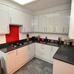 Gloss Grey Kitchen – Caterham