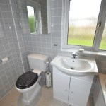 Bathroom Gloss Grey Tiles