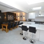 Kitchen Extension with Garage Conversion