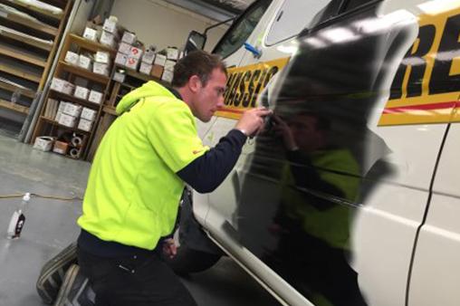 Signbiz sign making apprentice signage career