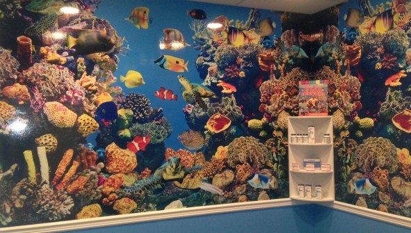 Undersea Wall Wrap