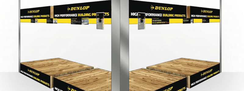 UK Point of Sale delivers for Dunlop rebrand