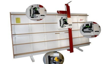 New router head for Zapkut ZM vertical panel saw