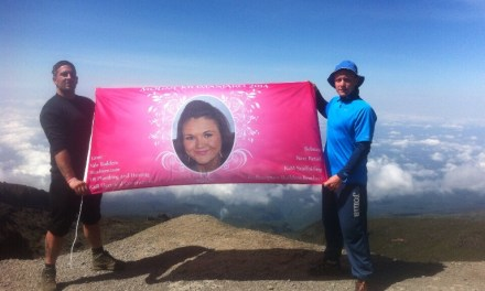 Flying the flag for Cystic Fibrosis