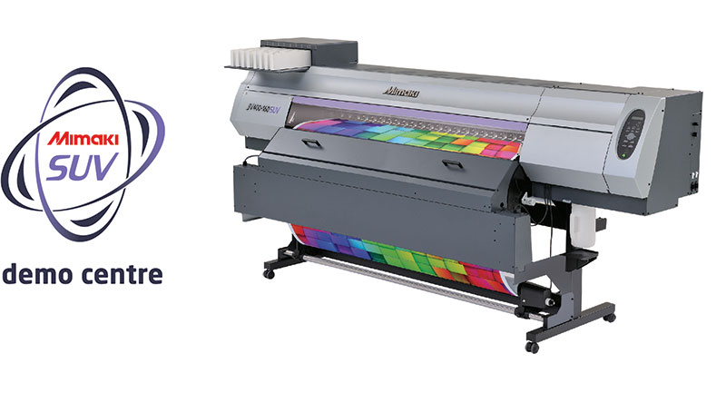 New Mimaki SUV Demo Centres