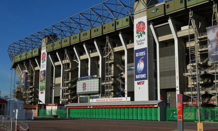 Raising the roof at the home of English Rugby