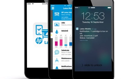 HP's Latex Mobile app takes off!