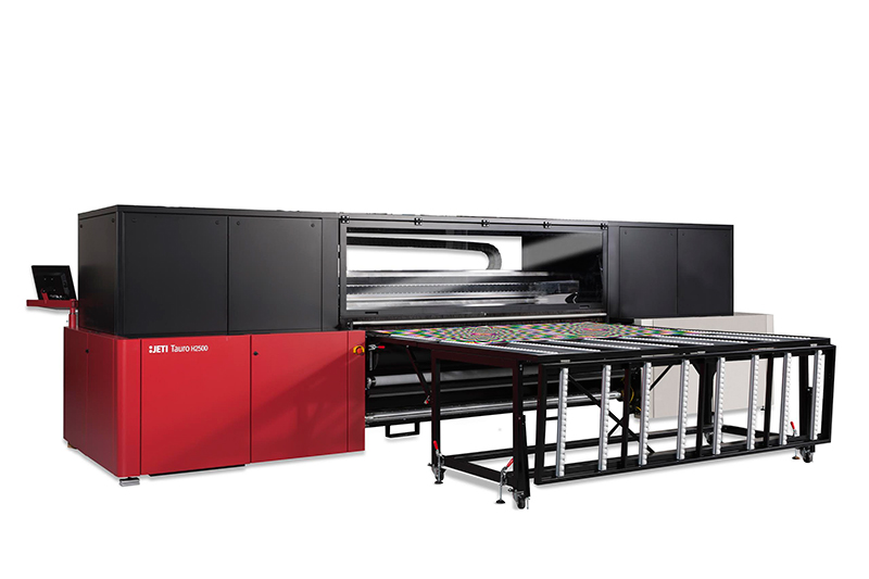 Agfa presents the Jeti Tauro and Mira printers