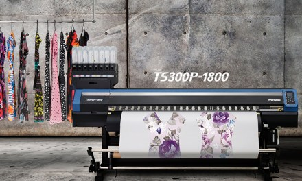 See the new Mimaki TS300P-1800 live!