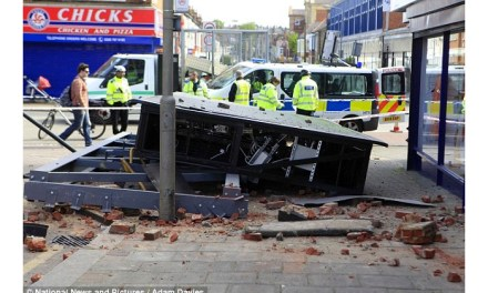 Two signs collapse in Tooting in 24 hours