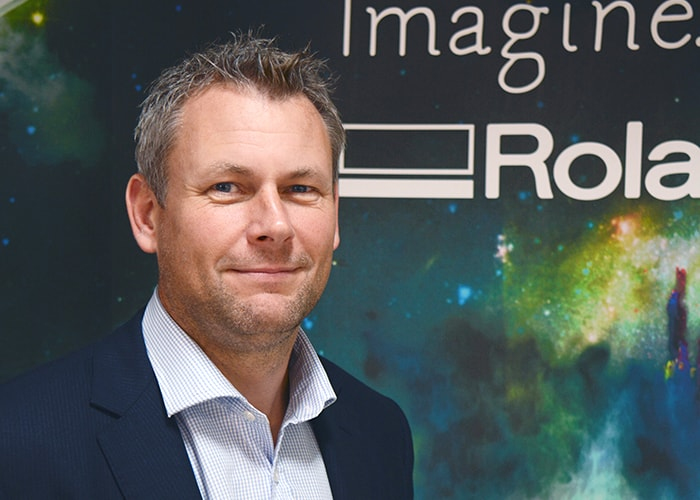 New Head of Sales at Roland DG